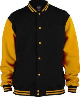 Urban Classics  Kids 2 tone College Sweatjacket cool Hip Hop