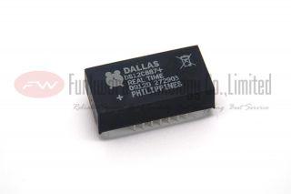 New Original DS12C887 Real Time Clock DIP 18 IC x 1PC