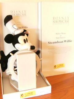 Steiff Mickey Mouse Steamboat Willie Disney Showcase EAN 651472 NEU