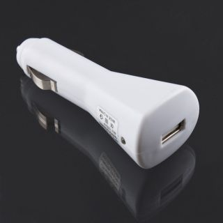 USB Car Auto Cigarette Lighter Plug Charger for iPhone 3G iPod MP4