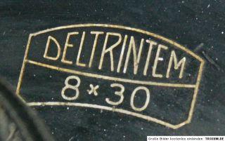 Carl Zeiss Jena Fernglas 8 x 30 mit Lederriemen zum Umhängen schwarz