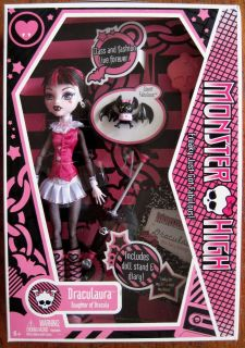 Mattel MONSTER HIGH DRACULAURA Original First Edition 1st Wave Vampire