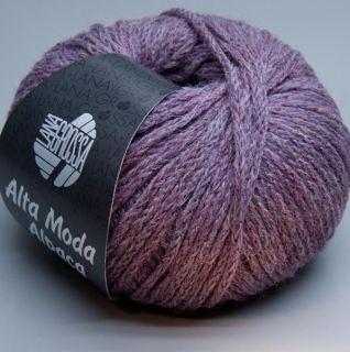 Lana Grossa Alta Moda Alpaca 020 grape shake 50g Wolle