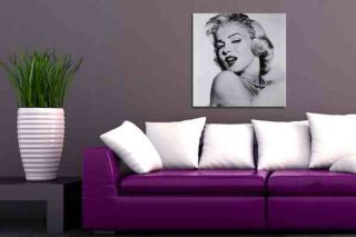 Bild Canvas Leinwand Kunstdruck MARILYN MONROE 40x40cm Hollywood Divas