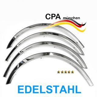 Edelstahl Radlauf Zierleisten Mercedes Benz CLK W208 Cabrio, Baujahr