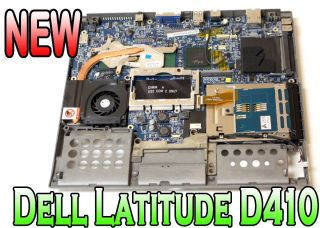 New Dell Latitude D410 Motherboard with Bottom Base Assembly   XF897