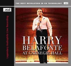 PREMIUM  Harry Belafonte At Carnegie Hall CD XRCD