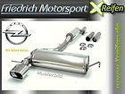 Opel Mokka Allrad Turbo 70mm Edelstahl Abgasanlage von Friedrich