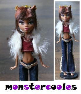 Set #27 Wechselkleidung Western Fashion für Monster High Clawdeen
