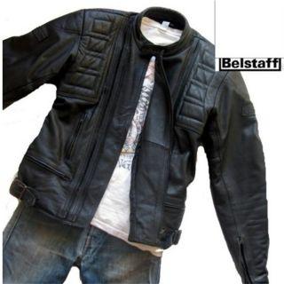 BELSTAFF Outlaw Biker Lederjacke Jacke LEDER Bikerjacke 900 Gr 48 S