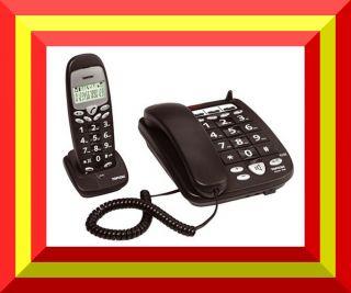 TOPCOM BUTLER 900 TISCH TELEFON TISCHTELEFON SENIOREN MIT 1