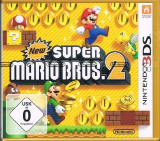 Nintendo 3DS Spiel New Super Mario Bros 2
