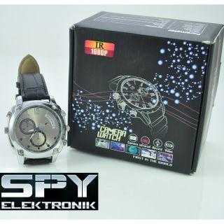 1080 Mini Kamera SPY Cam Armband Uhr HD DV 16 GB Neu Nacht Version 902