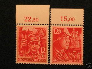 Reich, WW2, Nr.909 910, Adolf Hitler Nazi Army , SS / SA, Satz