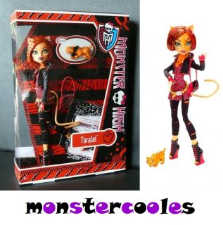 NEU OVP Monster High Toralei Tochter der Werkatze Haustier Sweet Fangs