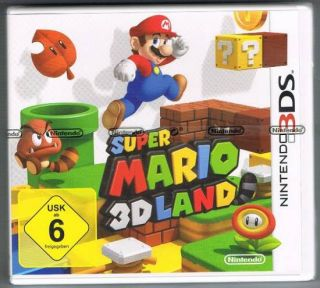 Nintendo 3DS Spiel Super Mario 3D Land Jump and Run NEU