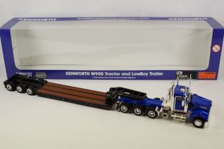 NORSCO Kenworh W900 racor and LowBoy railer Masssab 1 50 ruck