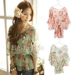 Chic Bluse Damen Shirt Frill Chiffon 2 Farben 36 38 + Neu