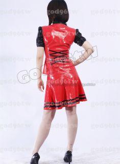 100% Latex Gummi shirt/Hemd/skirt/Rock/Catsuit/Anzug