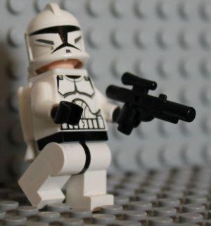 Lego Star Wars MiniFig Figur Clone Trooper mit Blaster 7748 + Jet Pack