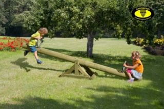 Holzwippe Gartenwippe Wippe aus Holz für Kinder