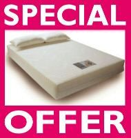 inch thick Double size Memory Foam Mattress RRP £899
