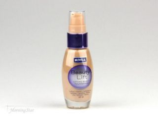 2x 30ml Nivea Beauty Lift Foundation Make Up lifting effect 010 Ivory