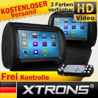 HD908T 9 CAR HEADREST HD TOUCH SCREEN DVD PLAYER Bluetooth iPOD USB
