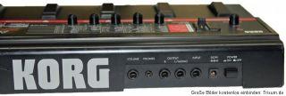 Korg A5 GTR Guitar Performance Signal Processor Effekt Gerät