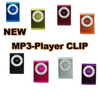 USB Mini Clip  Player   Micro SD/TF Card Slot