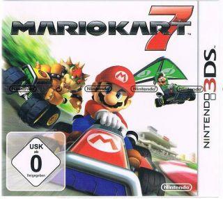 Nintendo 3DS Spiel Mario Kart 7 NEU