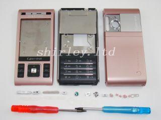 Pink Neu Sony Ericsson C905 Gehäuse Tastatur Cover
