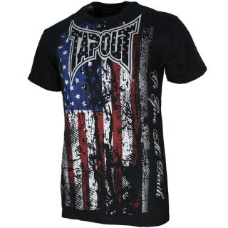 Tapout Herren T Shirt S M L XL XXL 3XL Tee Kampfsport Tap Out MMA Free