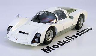 18 Minichamps Porsche 906 Carrera 6 1966 white