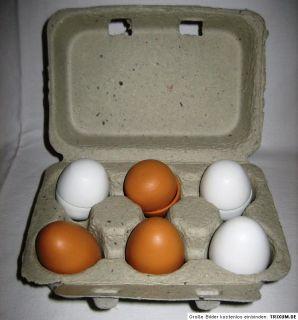 Eierschmaus SET Eier aus Holz zum Aufschlagen für Rührei