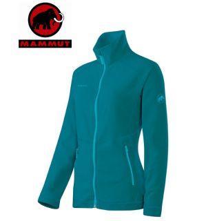 Mammut YAMPA Jacket Women blau, Damen Fleece Jacke, Fleecejacke, 100er