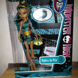 Monster High Puppe Nefera De Nile NEU&OVP