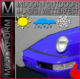 PORSCHE 911 964 Carrera Ganzgarage Auto Car Cover Spiegeltaschen