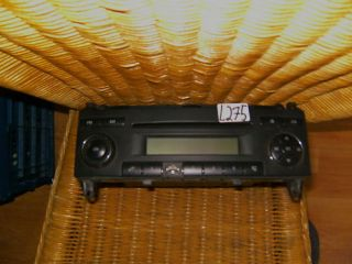 radio cd player mercedes sprinter 315cdi W906 Vito W639