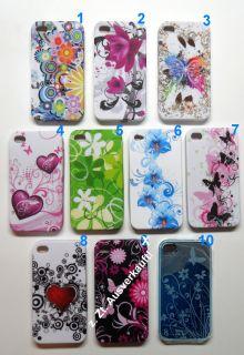 iPHONE 4 4S TPU CASE SILIKON, Apple Handy Hülle, Cover, Tasche