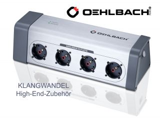 OEHLBACH Powersocket 908 / High End Steckdosenleiste / 13040 / Power