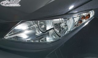RDX Scheinwerferblenden Seat Ibiza 6J Böser Blick ABS Blenden Spoiler