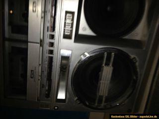 Sharp GF 777 Ghettoblaster , Boombox , Vintage , für Liebhaber und