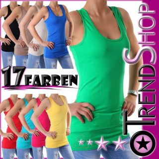 Neu Tailliertes Long Top Top Shirt Longtop viele Farben One Size 34 36