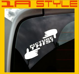 Picture this sticker the shocker dubway Style FOTO AUTOTUNING STICKER