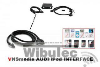 Nachrüstung VNSmedia Music Interface für iPod/iPhone   alle AUDI mit