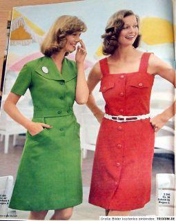 Neue Mode Mai 1973 Urlaubsmode, Strand Set für Mollige