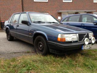 Volvo 940 Limousine, blau, Automatik, Bj 1993,Tüv 02/14, Leder