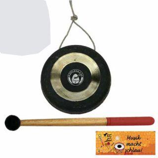 Corvus Mini Gong Klangschale Gongs NEU Kinder Schlegel