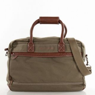 Weekender kleine Reisetasche Messenger Bag Canvas Khaki 1463